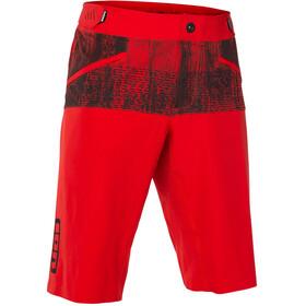 ION Scrub Amp Spodnie rowerowe Mężczyźni czerwony